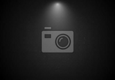 Fototapete Abstrakter schwarzer gestreifter Hintergrund mit Scheinwerfer, Vektor