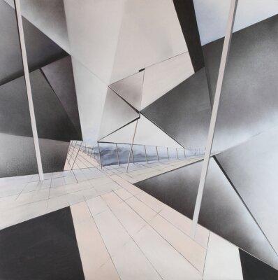 Fototapete Abstraktes Gemälde