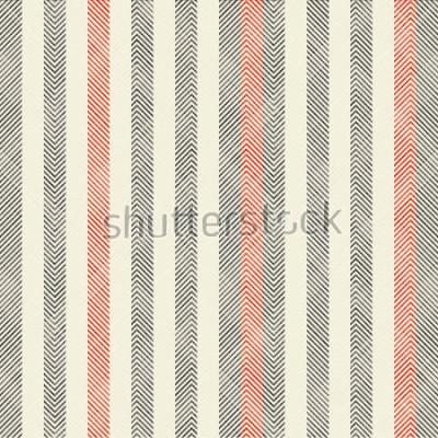 Fototapete Abstraktes gestreiftes geometrisches nahtloses Muster auf Beschaffenheitshintergrund in den Retro- Farben. Endlose Muster können für Keramikfliesen, Tapeten, Linoleum, Textilien, Hintergrund der Webse