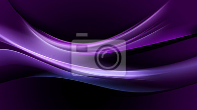 Fototapete Abstraktion lila Licht Welle Hintergrund
