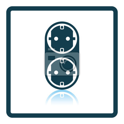 Ac-splitter-symbol fototapete • fototapeten Splitter, Triple, ac ...