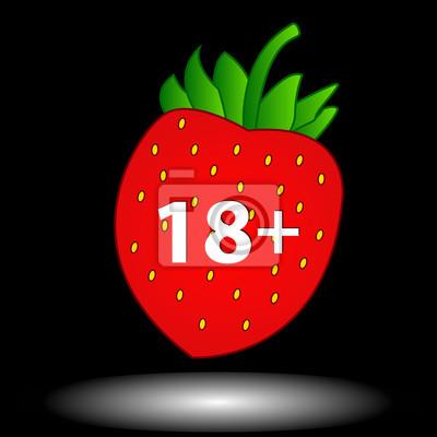 Achtzehn Plus-Symbol