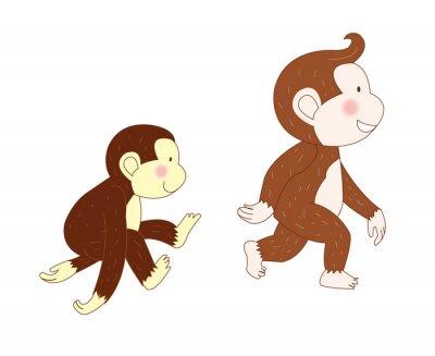 Affen gingen
