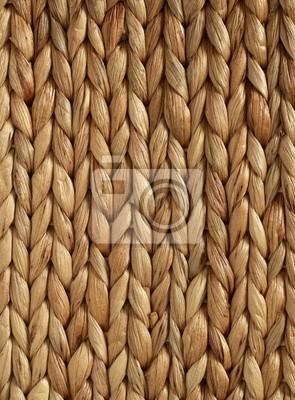 African geflochtenen Korb Textur vertikale