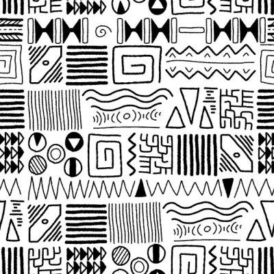 Fototapete African pattern