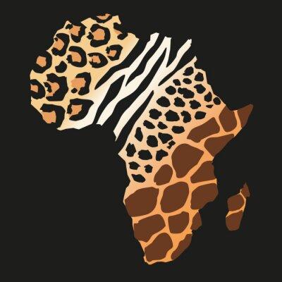 Fototapete Afrique_animaux sauvages