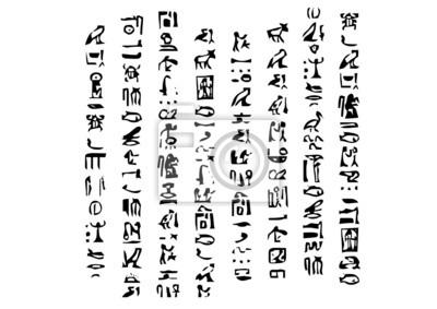 Alfabet Egipcjan