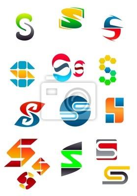 Alphabet Buchstabe S