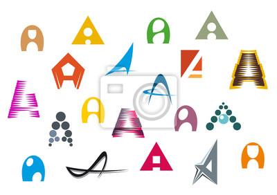 Alphabet Buchstaben A
