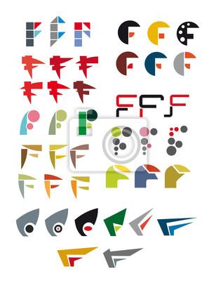 Alphabet Buchstaben F