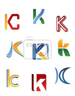 Alphabet Buchstaben K