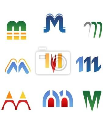 Alphabet Buchstaben M