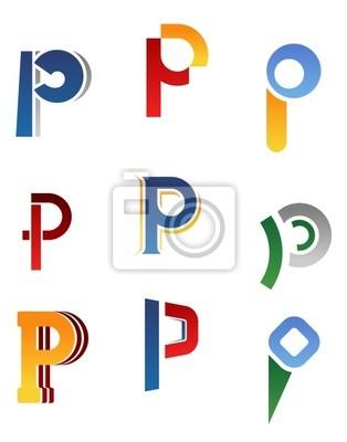 Alphabet Buchstaben P