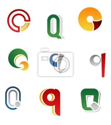 Alphabet Buchstaben Q