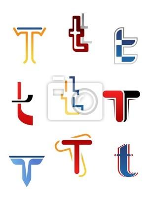 Alphabet Buchstaben T