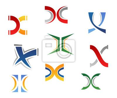 Alphabet Buchstaben X