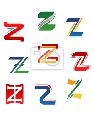 Alphabet Buchstaben Z