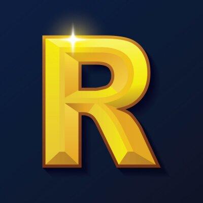 Alphabet-Goldfarbenart