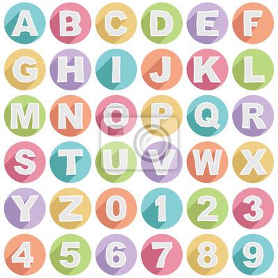 Alphabet-Symbole
