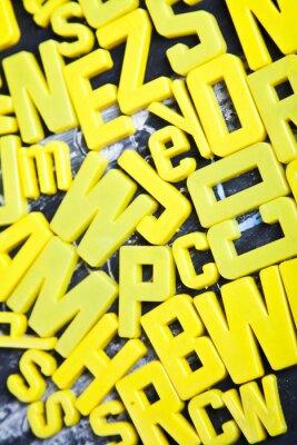Fototapete Alphabet, Tafel-, Bildungs-