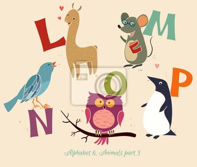 Alphabet & Tiere, part3