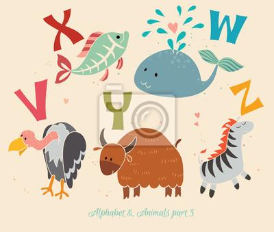 Alphabet & Tiere, Teil 5
