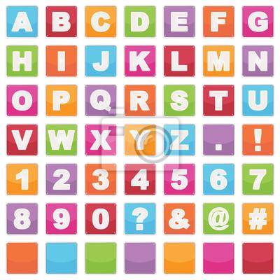 Alphabet Zeichen