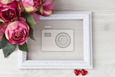 Alt Blumenstrauss Hochzeit Rosa Feiertage 14 Februar Herzen
