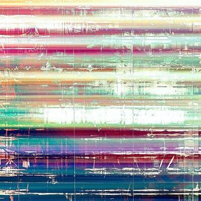 Fototapete Alte abstrakte Grunge Hintergrund, im Alter von retro Textur. Mit verschiedenen Farbmustern: gelb (beige); Rosa; blau; Weiß; Grün