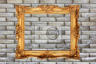 Alte Bilderrahmen An Der Wand Fototapete Fototapeten Rechteck