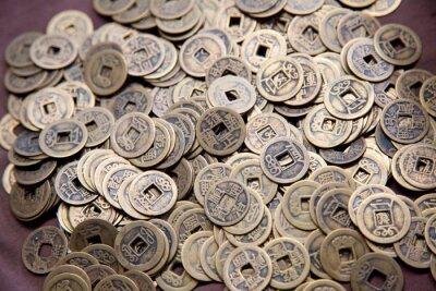 Alte Chinesische Münzen Fototapete Fototapeten Wohlstand öffnen