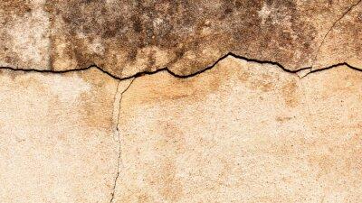 Fototapete Alte gebrochene Wand Hintergrund