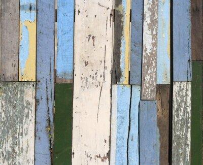 Fototapete Alte Holz-Zaun