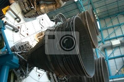 alte Rakete Detail