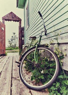 Fototapete Alte Retro-Bike.