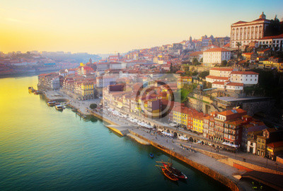 Fototapete Alte Stadt von Porto, Portugal