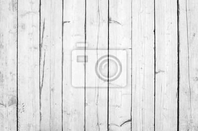 Alte Weisse Holzwand Detaillierte Hintergrundfoto Fototapete