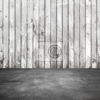 Alte Weisse Holzwand Und Asphaltboden Fototapete Fototapeten