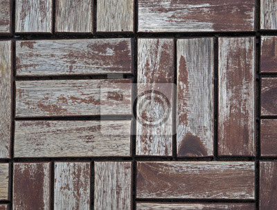 Alten Holztitel Boden Muster Fototapete Fototapeten Geschalt