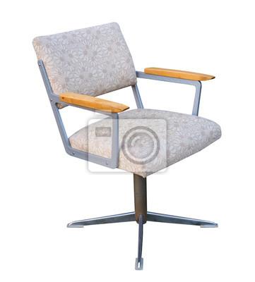 Alter Drehstuhl Burostuhl Sessel Fototapete Fototapeten