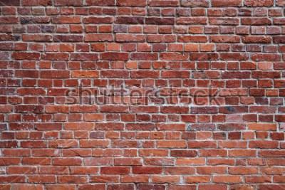 Fototapete alter roter Backsteinmauerbeschaffenheitshintergrund
