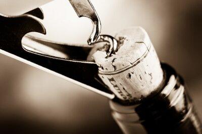 Fototapete alter Wein