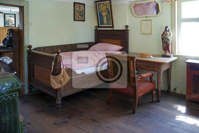 Altes schlafzimmer fototapete • fototapeten Franken, Geldbörse ...