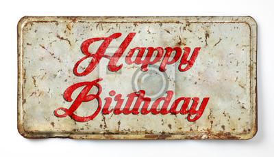 happy birthday schriftzug zum ausdrucken - etsy bild