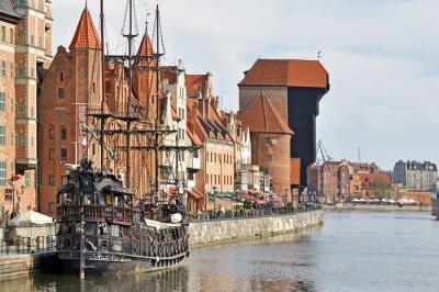 Fototapete Altstadt von Danzig