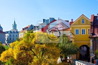 Fototapete Altstadt von Lublin, Polen