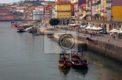 Fototapete Altstadt von Porto, Portugal