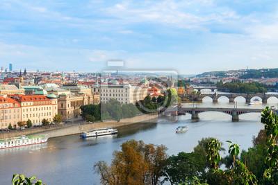 Fototapete Altstadt von Prag von oben