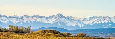 Fototapete am Fuße der Colorado Rockies