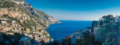 Fototapete Amalfiküste zwischen Neapel und Salerno. Italien